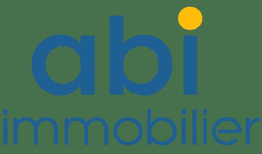 Logo bleu du partenaire abi