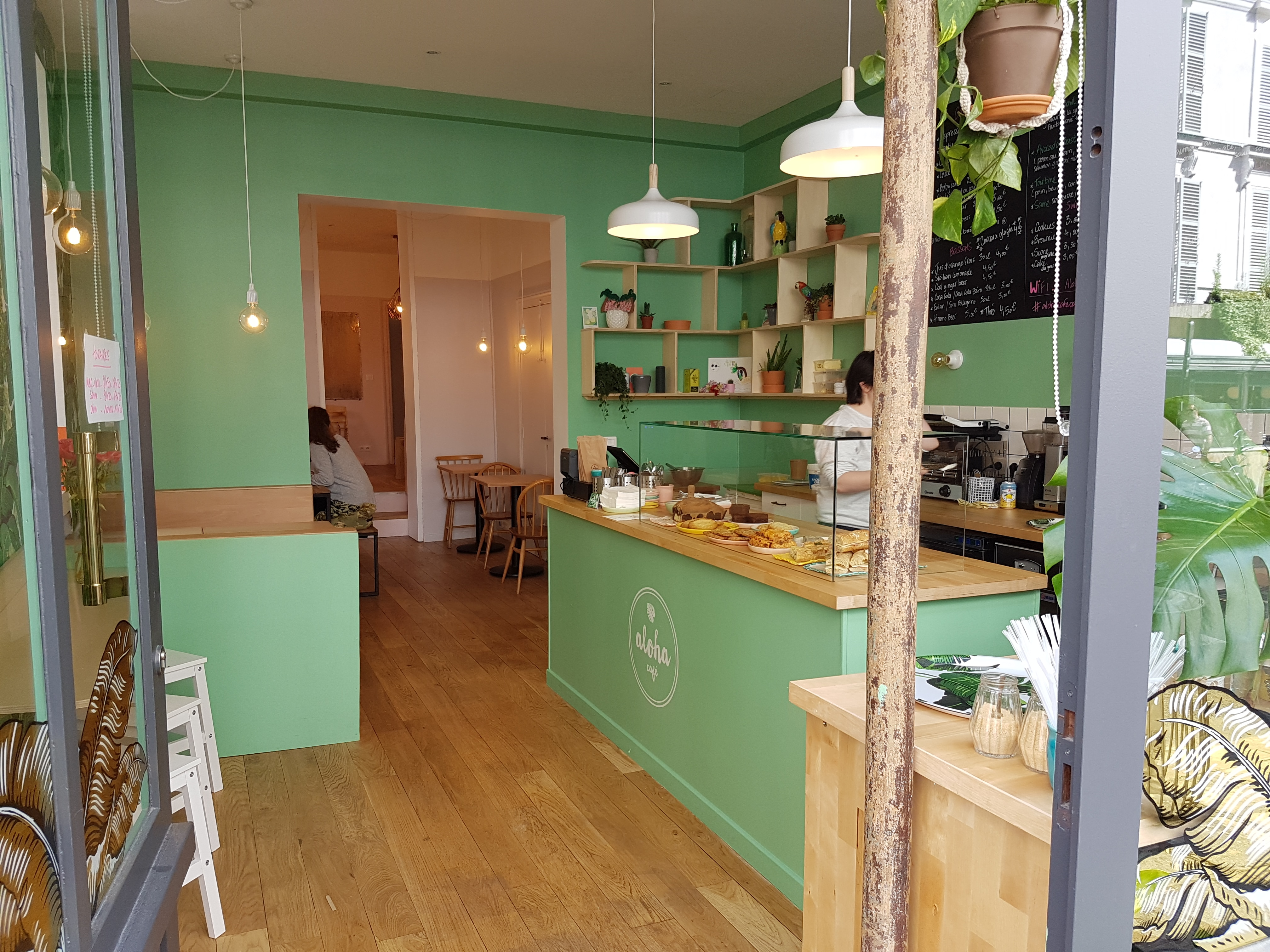 Rénovation d'un lieu prisé de paris, le aloha café